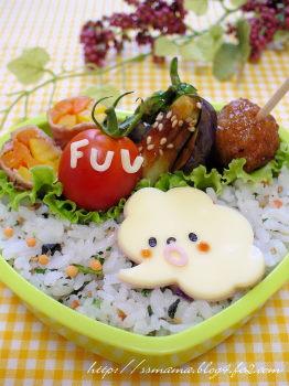 雲さんのお弁当