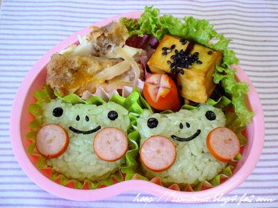 カエルくんのお弁当2