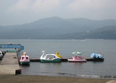 山中湖畔5