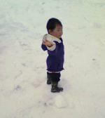 雪がこわい