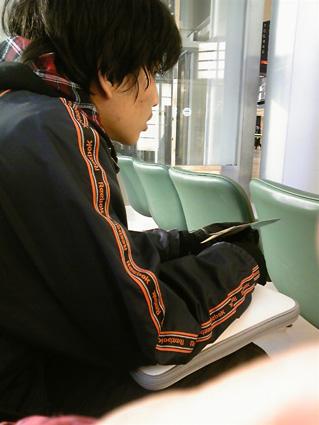 2010正月コテツ再び長万部へ@福岡空港