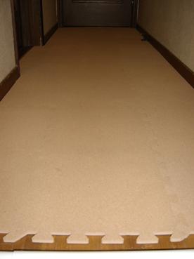 廊下(after)コルクマット