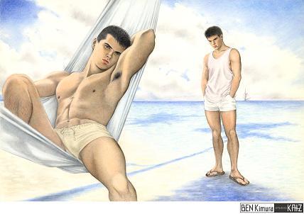 quiet beach 002