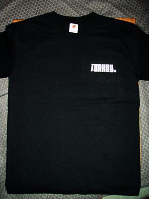 神奈川県秦野市「TURKEY」スタッフTシャツ 表面