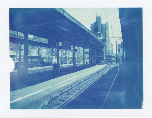 恵美須町駅構内