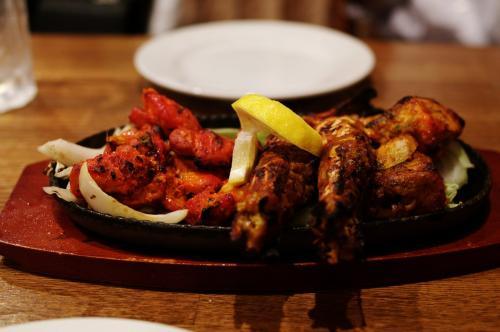 印度料理ミックスグリル