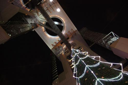 スカイタワーのツリー2