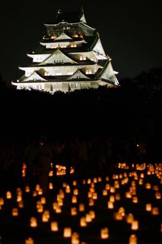 城灯りの景1