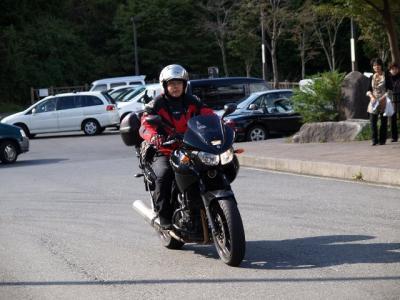 なんかバイクが小さく見えね?