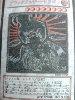 ブラックフェザー・ドラゴン(笑)