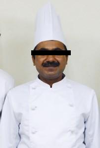 インド人シェフ