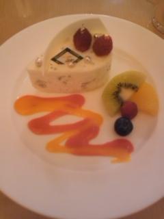 レアチーズケーキ@TIFFIN