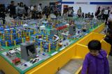 トミカ博のプラレール会場
