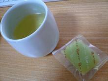 夏ういろと栗茶