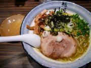 煮干と山葵の和え麺