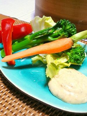 091027野菜と和風マヨ