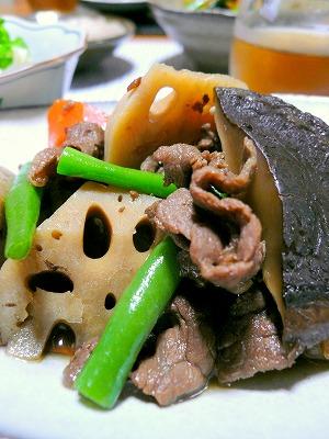 091028牛肉と根菜の煮物