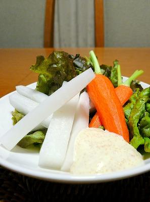 091030お野菜とタラマヨ