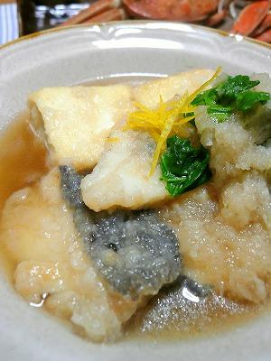 091111タラとお豆腐のおろし煮