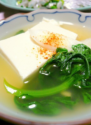 091126お豆腐煮