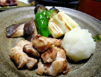 091214焼き野菜と鶏肉