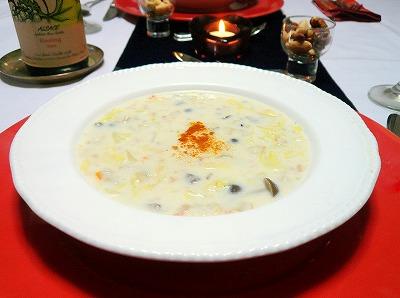 091224きのこのクリームスープ