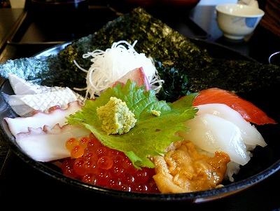 100110海鮮丼