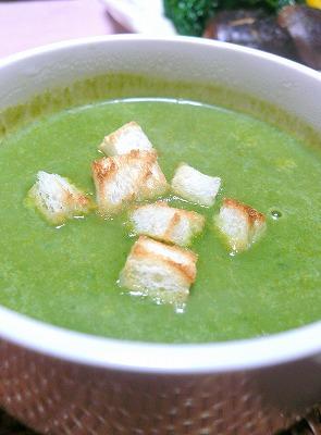 100325ほうれん草のスープ