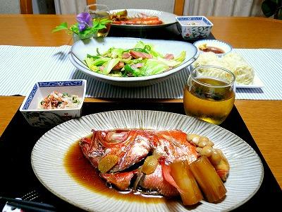 100601夕食