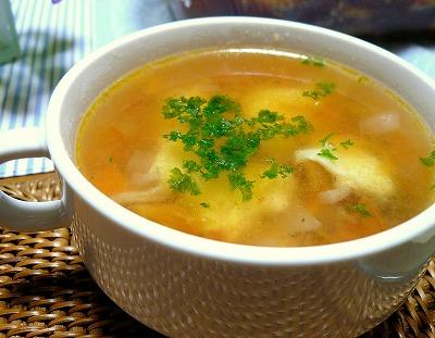 100604ぴりっと辛いスープ