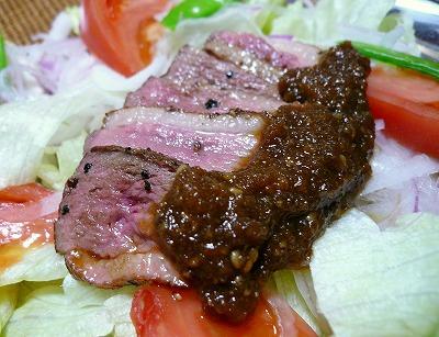 100604鴨肉のサラダ