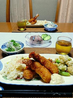 100606夕食