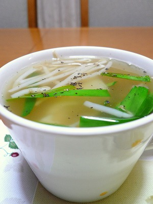 100613わんたんスープ