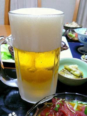 100627冷え冷えビール