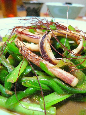 100817いかと野菜のアジア炒め