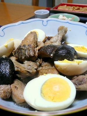 110112鶏と干しシイタケの中華煮
