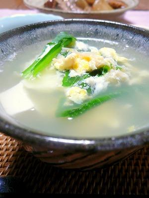110209お豆腐スープ