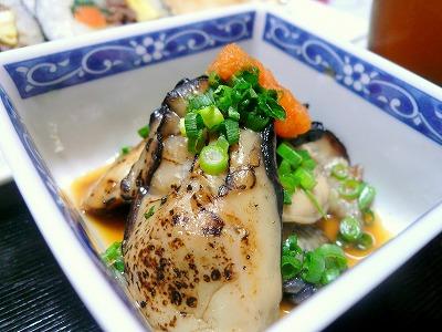 110203牡蠣のあぶり焼き