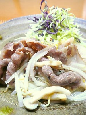 110225豚肉と野菜のスタミナ源炒め