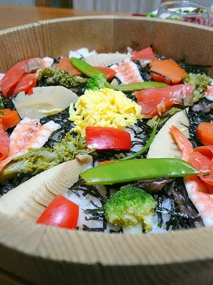 110226ちらし寿司
