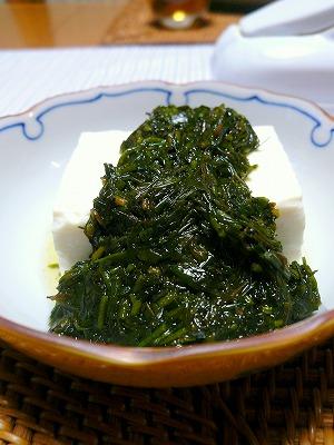 110302お豆腐とギバサ