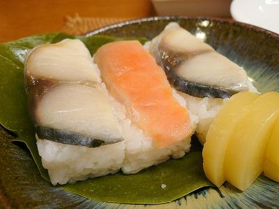 110520柿の葉寿司