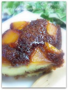 キャラメルりんごケーキ 2