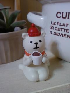 クマのコーヒータイム