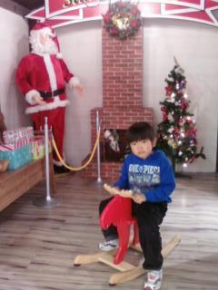 サンタさんのお家