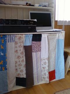 パッチワークカーテン1