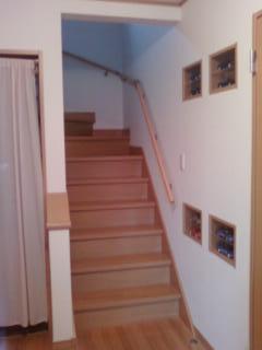 階段カーテン