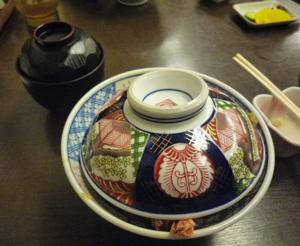 鎌倉でえび天丼2
