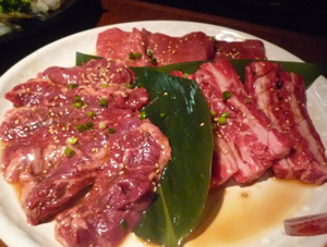 新宿で焼き肉コース7