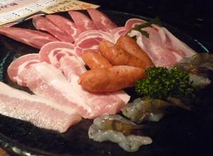 新宿で焼き<br />肉コース4